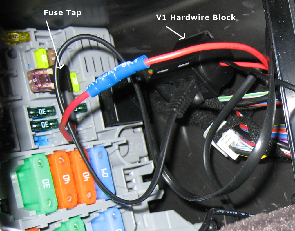Bmw e radar detector fuse box hardwire installation by