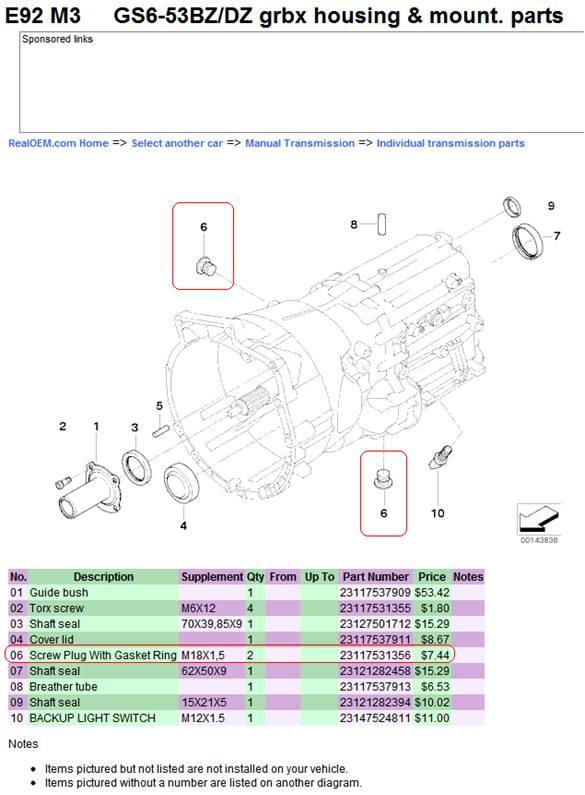 bmw m3 coupe e92 changing manual transmission fluid. Black Bedroom Furniture Sets. Home Design Ideas