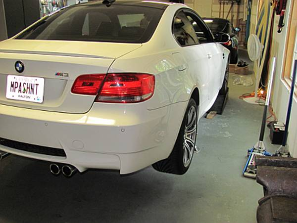 how to use jack stands on e90