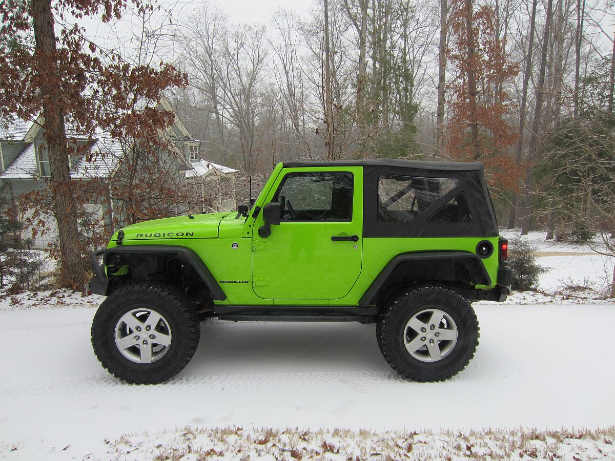 2 5 Inch Lift On Stock Tires Silly Jeep Wrangler Forum